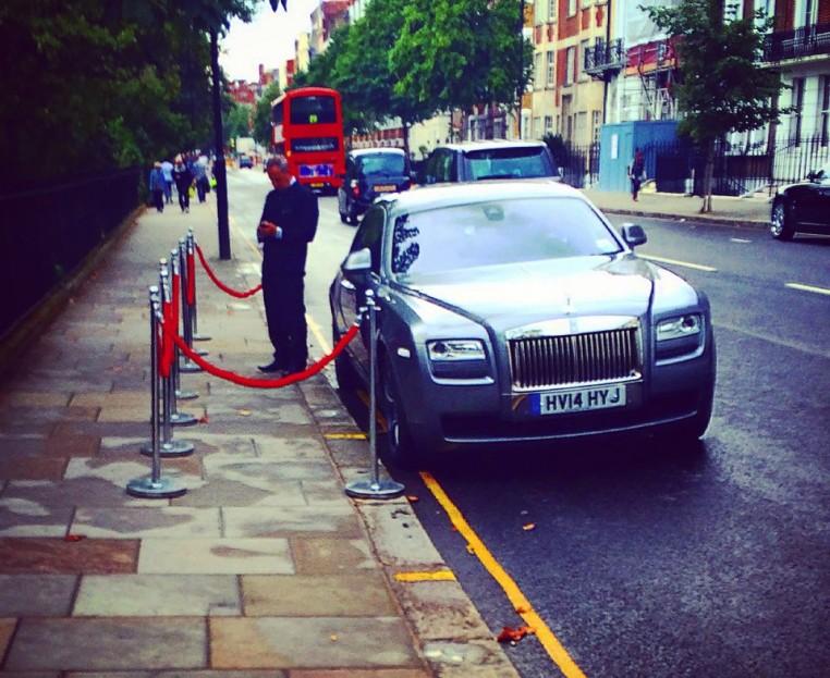 VIP driver!